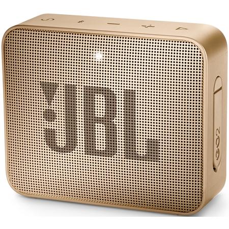 JBL GO 2 Pearl Champagne Bluetooth Speaker