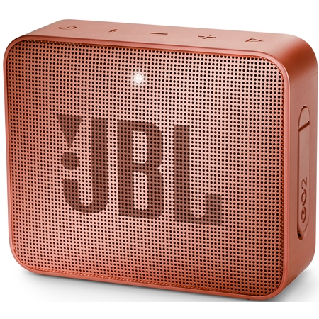 JBL GO 2 Sunkissed Cinnamon Bluetooth Speaker