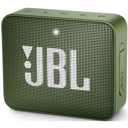 JBL GO 2 Moss Green Bluetooth Speaker