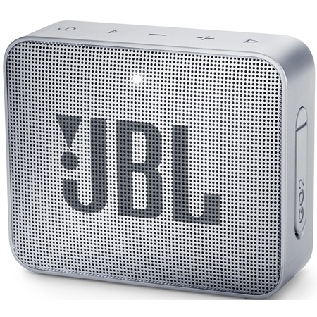 JBL GO 2 Ash Gray Bluetooth Speaker