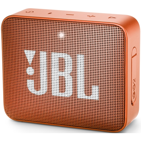 JBL GO 2 Coral Orange Bluetooth Speaker
