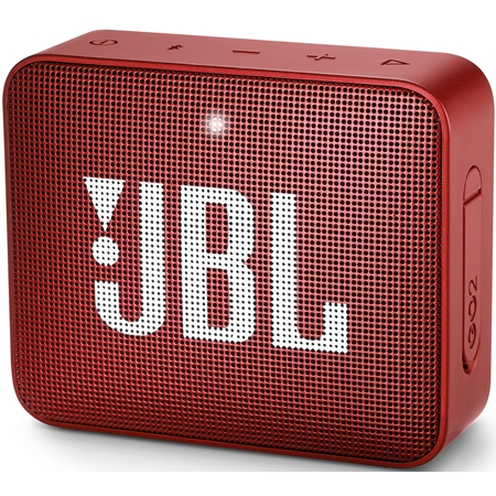 JBL GO 2 Ruby Red Bluetooth Speaker