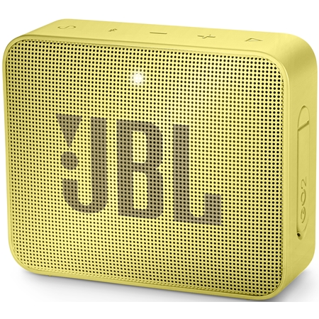 JBL GO 2 Lemonade Yellow Bluetooth Speaker