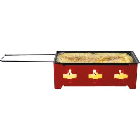 Fritel Raclette Heat Cheese Swiss Cross