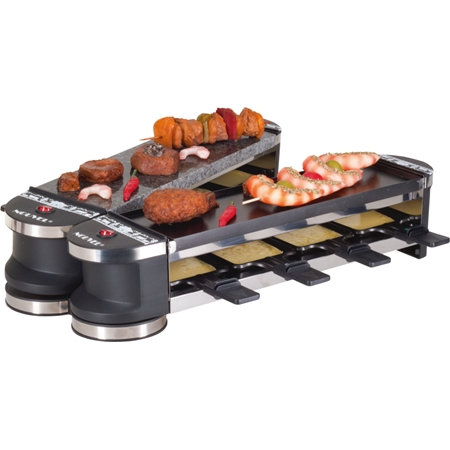 Fritel Opvouwbare Raclette & Stone Grill