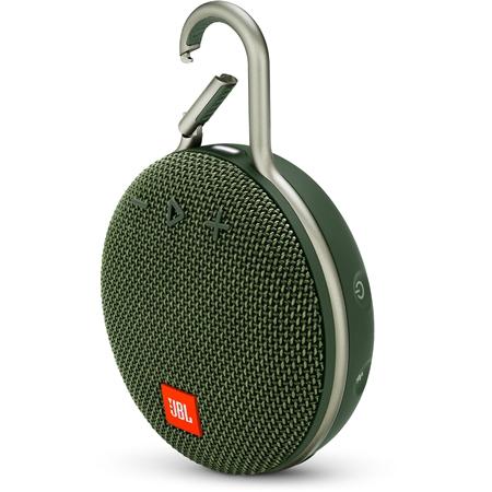 JBL CLIP 3 Forest Green Bluetooth Speaker