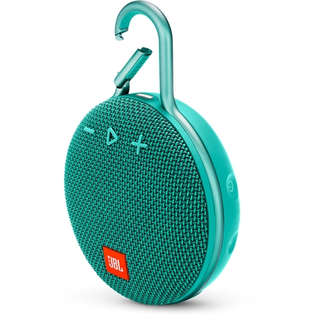 JBL CLIP 3 River Teal Bluetooth Speaker
