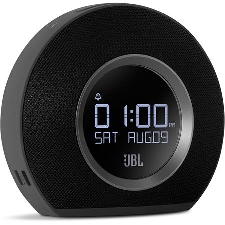 JBL Horizon Black Bluetooth wekkerradio