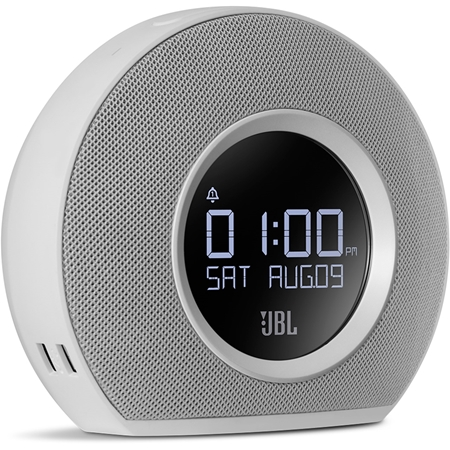 JBL Horizon White Bluetooth wekkerradio