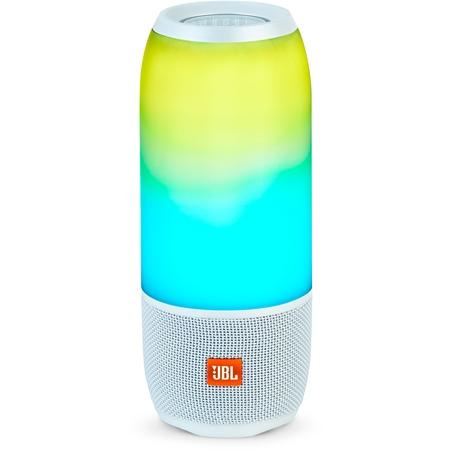 JBL Pulse 3 White Bluetooth Speaker