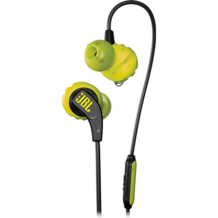 JBL ENDURANCE RUN Zwart lemon