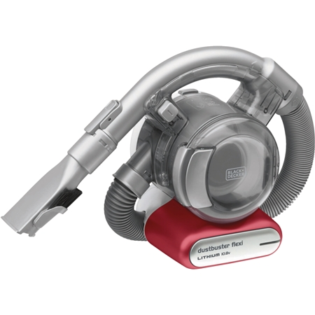 Black & Decker PD1020L-QW rood-metallic Kruimelzuiger