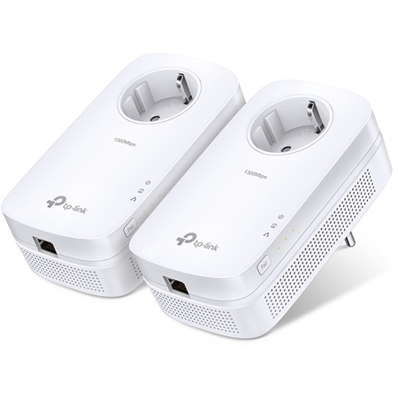 TP-LINK Powerline TL-PA8010P Kit Geen Wifi 1200 Mbps 2 adapters