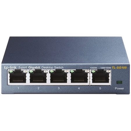 TP-LINK TL-SG105 zilver Switch