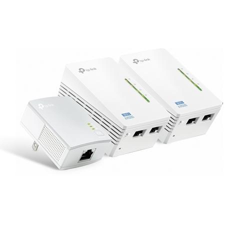 TP-LINK Powerline TL-WPA4220 Kit Wifi 500 Mbps 3 adapters