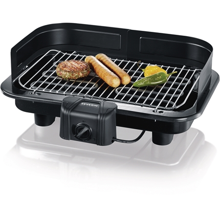 Severin PG 2791 zwart Barbecue