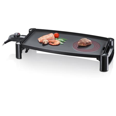 Severin KG2388 zwart Barbecue