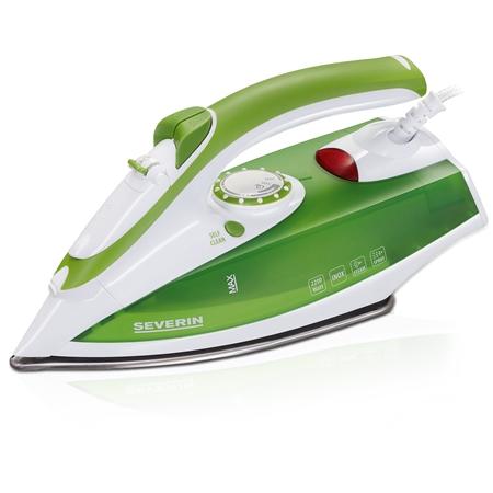 Severin BA 3242 wit-groen Stoomstrijkijzer
