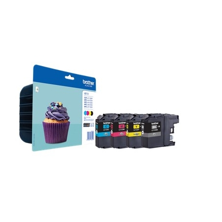 Brother LC-123 Value BP Ink