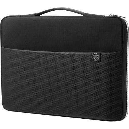 HP 35-56 cm (14-inch) draaghoes zwart/zilver