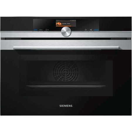 Siemens CM656NBS1 iQ700 inbouw combi oven
