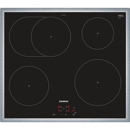 Siemens EI645CFB1E RVS-zwart Keramische Kookplaat