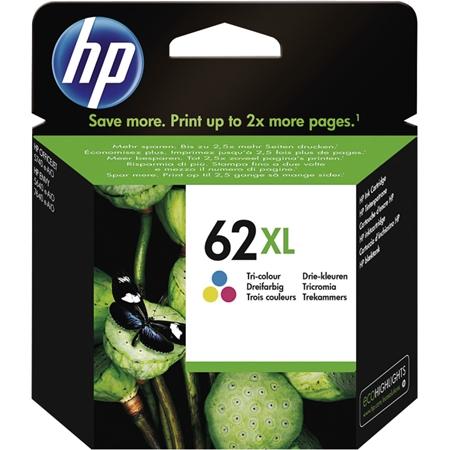 Hewlett Packard C2P07AE HP 62XLC meerkleurig