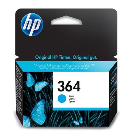 Hewlett Packard CB318EE No. 364 C cyaan