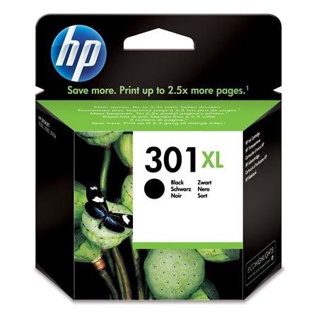Hewlett Packard CH563EE HP301 XL BK zwart