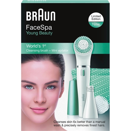 Braun Personal Care Face SE 832e wit-blauw