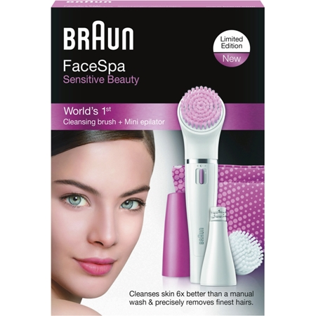 Braun Personal Care Silk-epil 832-s FACE wit-roze