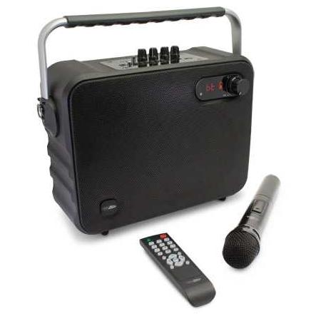 Caliber HPG517BT Bluetooth speaker met karaoke-functie