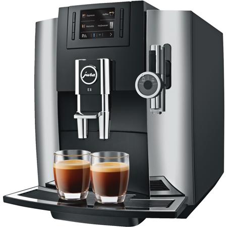 Jura E8 Chroom Espressomachine