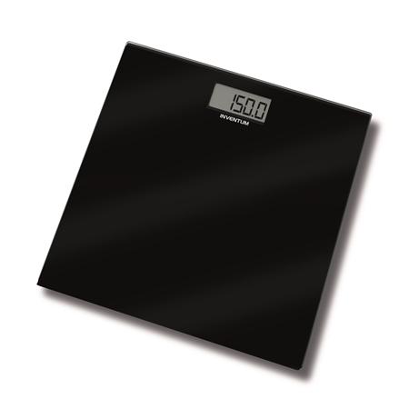 Inventum PW406GB zwart-glas Weegschaal
