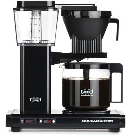 Moccamaster KBG 741 AO Black Koffiezetapparaat