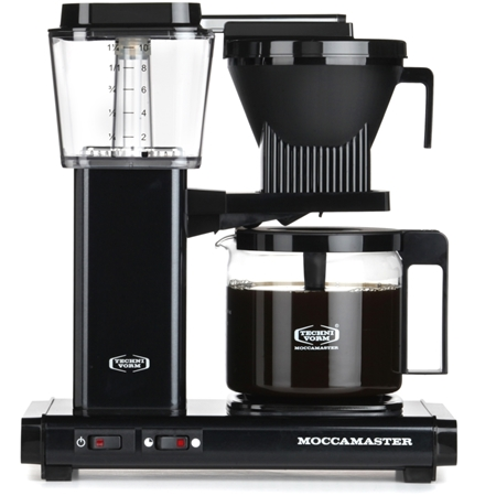 Moccamaster KBG741 AO Black koffiezetapparaat