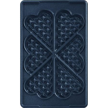 Tefal XA8006 Snack Collection hartvormige wafelplaten