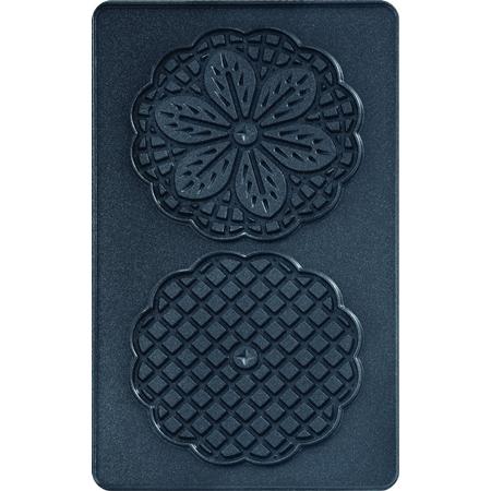 Tefal XA8007 Snack Collection bloemvormige wafelplaten