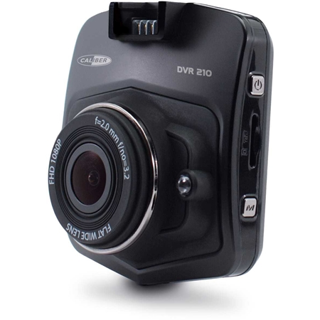 Caliber DVR210 dashcam met GPS-tracker