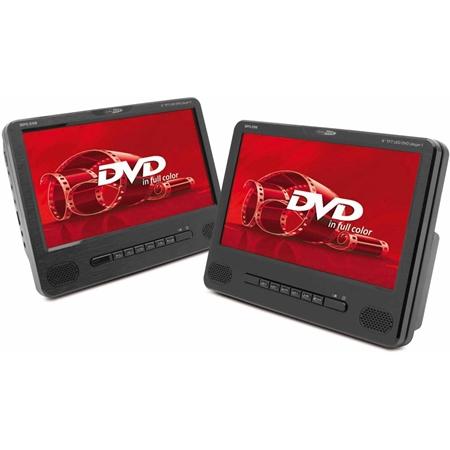 Caliber MPD298 Portable DVD-speler met twee schermen