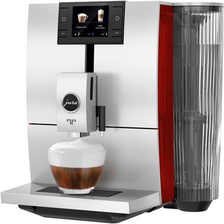 JURA ENA 8 Sunset Red volautomaat koffiemachine