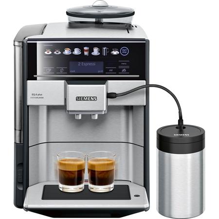 Siemens TE657F03DE extraKlasse EQ.6 plus volautomaat koffiemachine