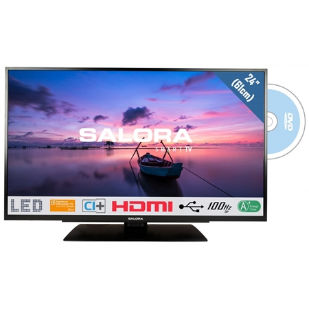 Salora 24HDB6505 HD LED TV met DVD