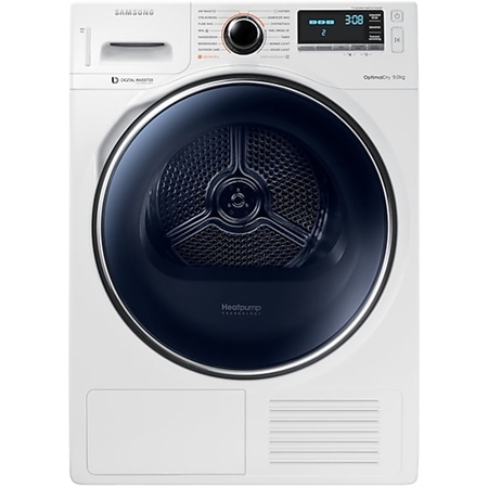 Samsung DV90M8204AW OptimalDry warmtepompdroger