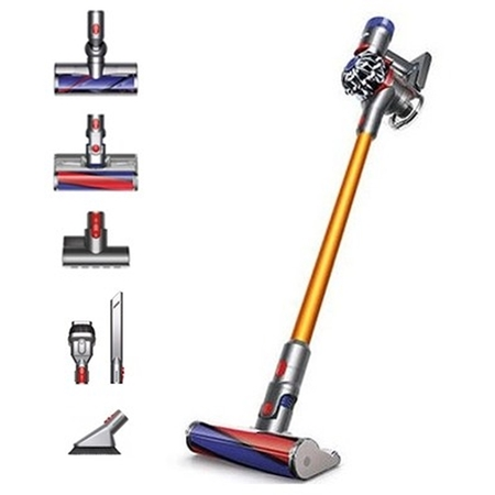 Dyson V8 Absolute + steelstofzuiger