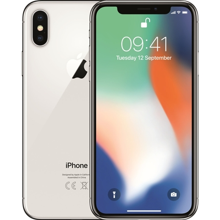 Renewd Apple iPhone X 64GB Refurb zilver