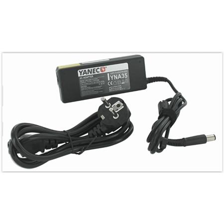 Yanec Laptop AC Adapter 90W (voor HP 7.4 x 5.0 connector) zwart