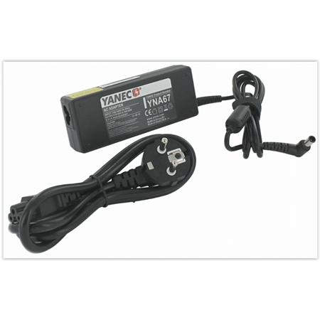 Yanec Laptop AC Adapter 92W (voor Sony) zwart