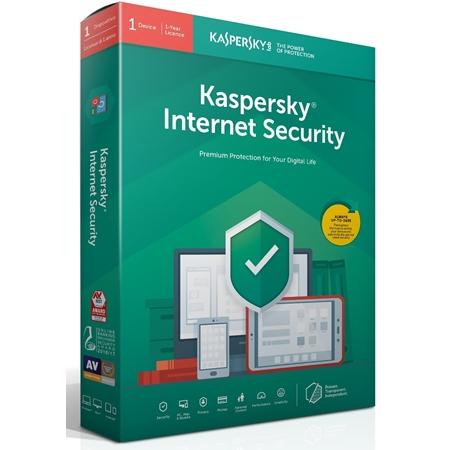 Kaspersky Internet Security Multi-Device 1 Device 1 jaar (download)