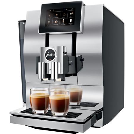 Jura Z8 Aluminium Chroom volautomaat koffiemachine
